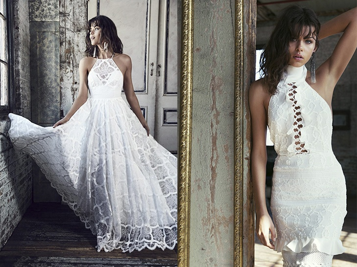 THE MOST BEAUTIFUL HALTER-NECK WEDDING DRESSES 2017