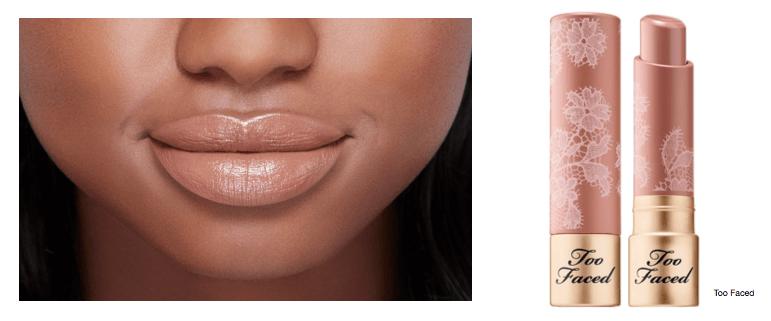 too faced nude lipstick invisibra